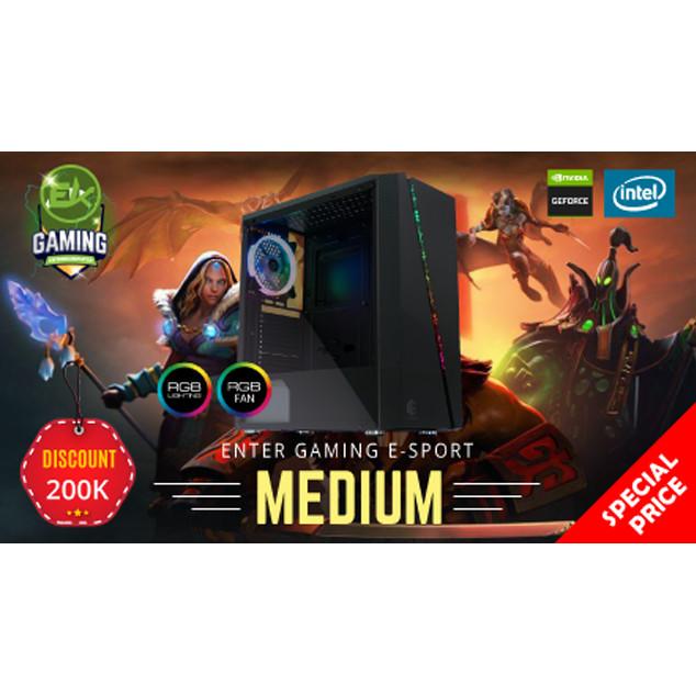 Foto Produk Paket PC Enter Gaming E-Sports MEDIUM INTEL X NVidia Graphic dari Enter Komputer Official