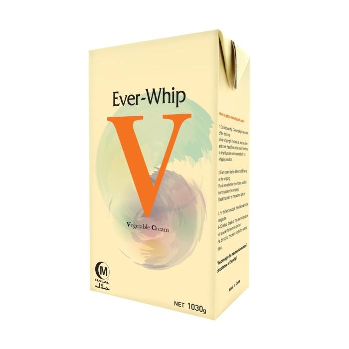 Foto Produk Ever Whip Whipping Cream Nabati Rasa Vanilla - NON DAIRY dari PT PANGAN LESTARI