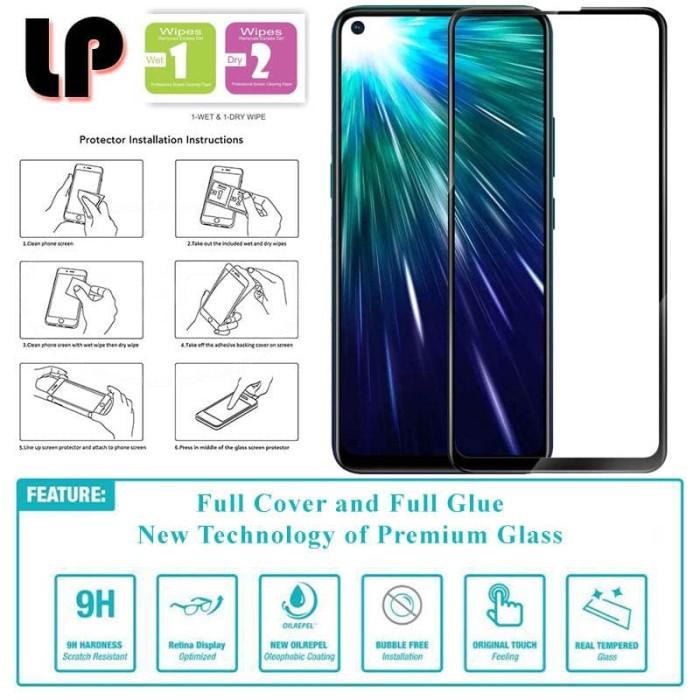 Foto Produk LP Full Glue Tempered Glass Vivo Z1 Pro - Original Clear Kaca Premium dari Logay Accessories