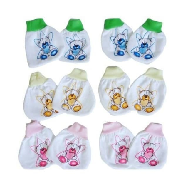 Foto Produk Set Sarung Tangan & Kaki Bayi (01) dari Grosir Peralatan Bayi