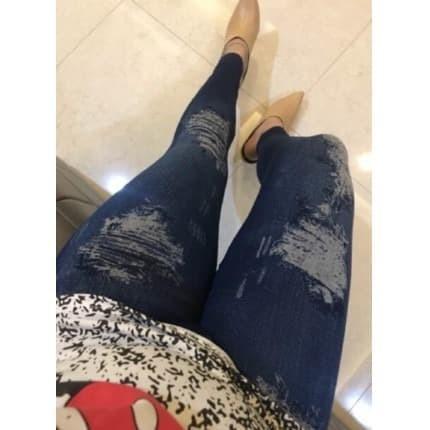 Jual Legging Jeans Wanita Legging Panjang Motif Sobek Legging Bumil Jeans Kota Jambi Ziie Gallery Tokopedia