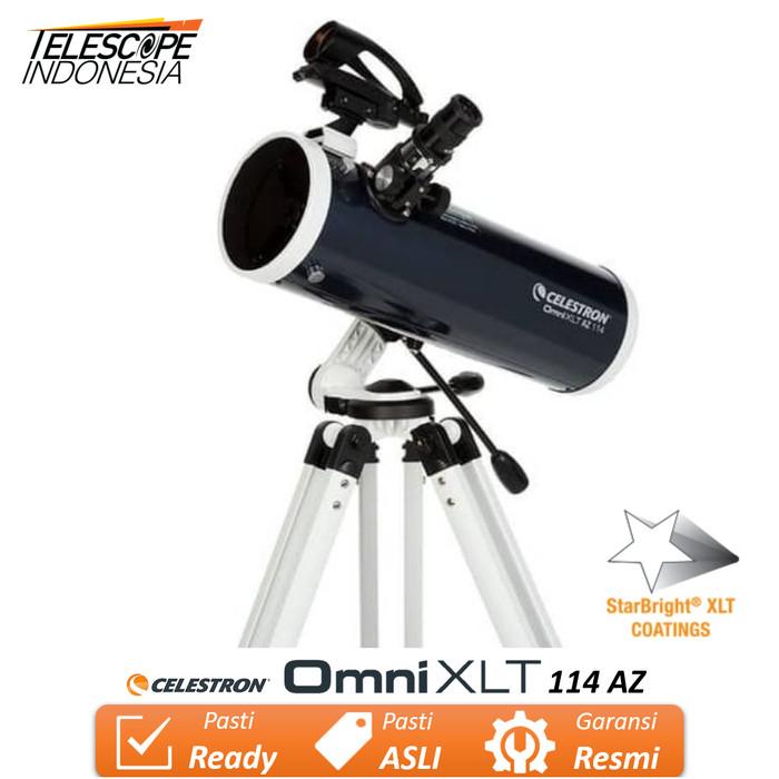 Foto Produk Celestron Omni XLT AZ 114 Teleskop Reflektor Newtonian dari TelescopeIndonesia
