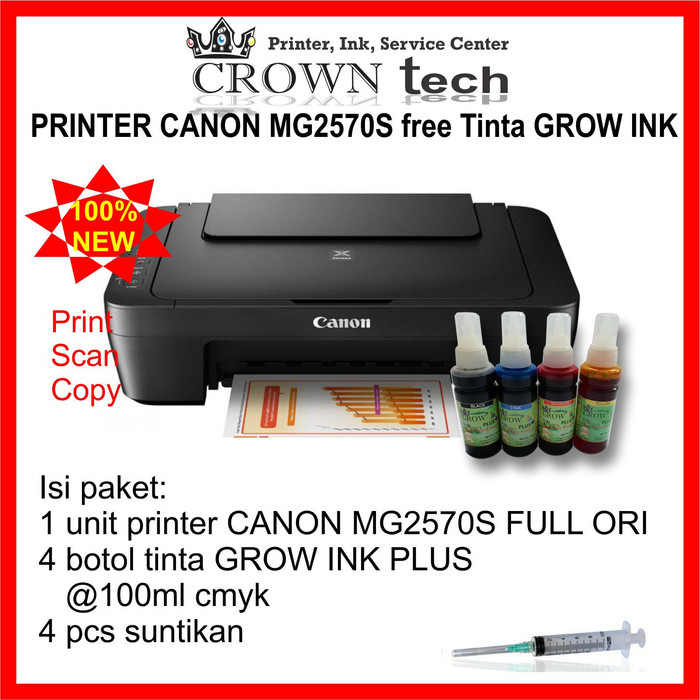 How To Repair Canon Mg2570 Printer