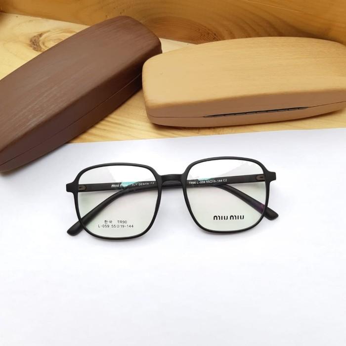 Foto Produk Frame Kacamata Wanita - Kacamata Miu Miu 059 Size 55-19-154 dari Pro Sunglass