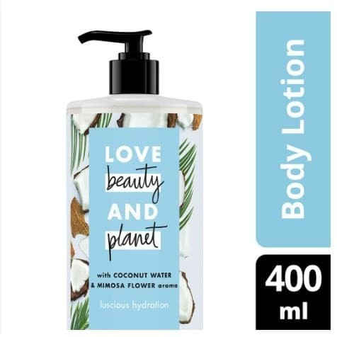 Foto Produk Love Beauty and Planet Petal Soft Body Lotion 400mL Biru dari cherryblossomdps