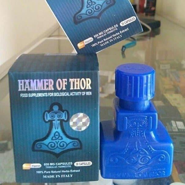 Jual THE BEST !!!! Obat Hammer Of Thor Asli Herbal Original Hasil Permanen  - Kab. Demak - mandor_syalala | Tokopedia