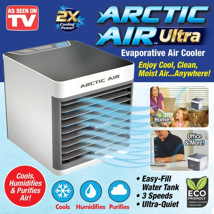 Foto Produk ARCTIC Air Cooler Ultra Conditioner Humidifier Cooling Fan Hydro V2 dari Vision Multicom