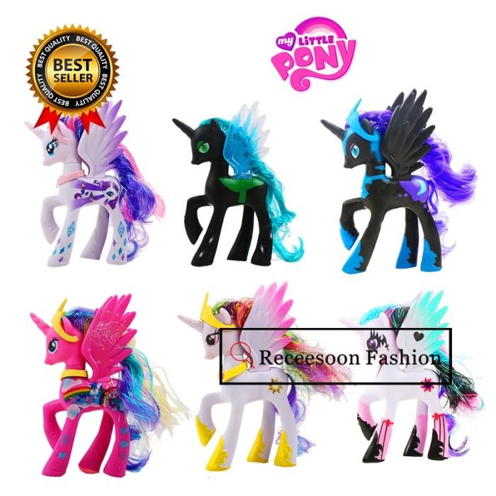 Jual Anak Perempuan Action Figure Motif My Little Pony Unicorn Aneka Jakarta Barat Fashionliving9 Tokopedia