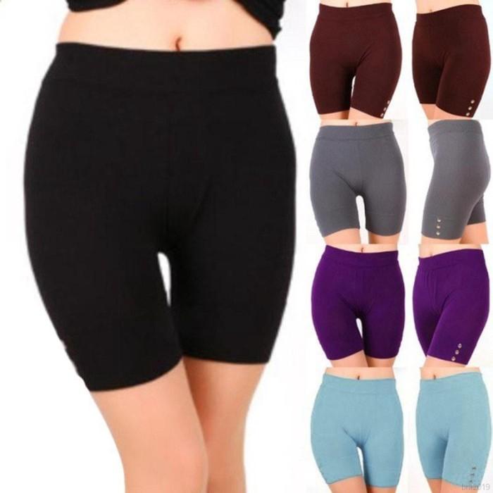 Jual Celana Legging Pendek Wanita Model Elastis Slim Untuk Fitness Kota Malang Koleksikemeja Tokopedia