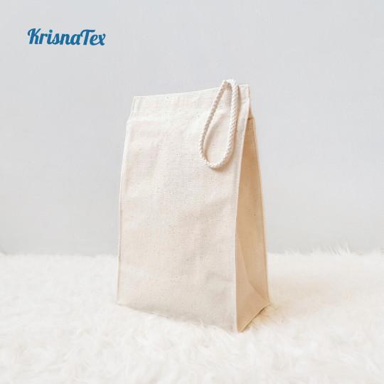 Foto Produk Tas Bekal / Hampers Kanvas (Lunch Bag Canvas) dari KrisnaTex