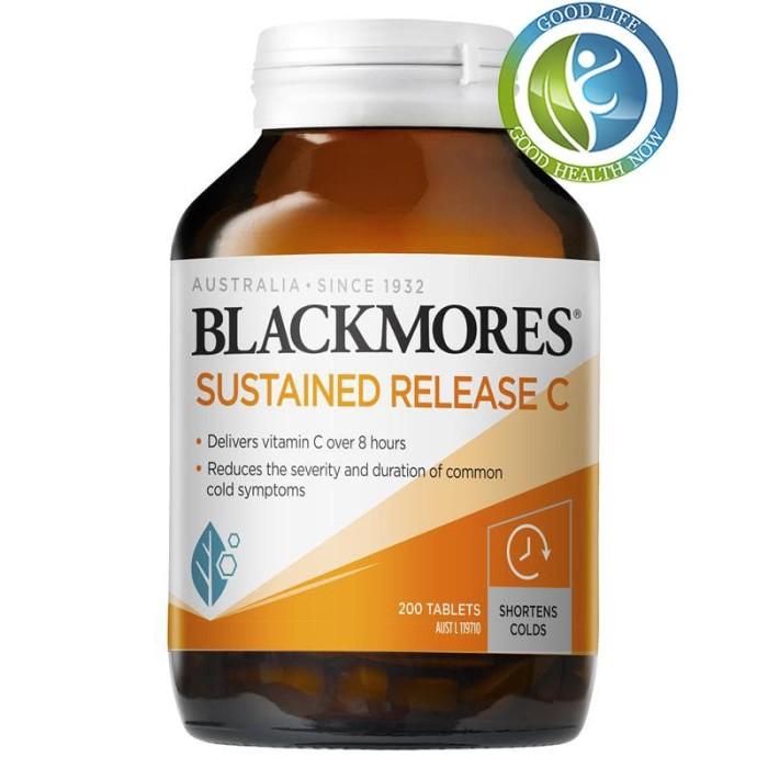 Foto Produk Blackmores vitamin C Sustained Release C 200 Tablets Australia dari Goodlife Au