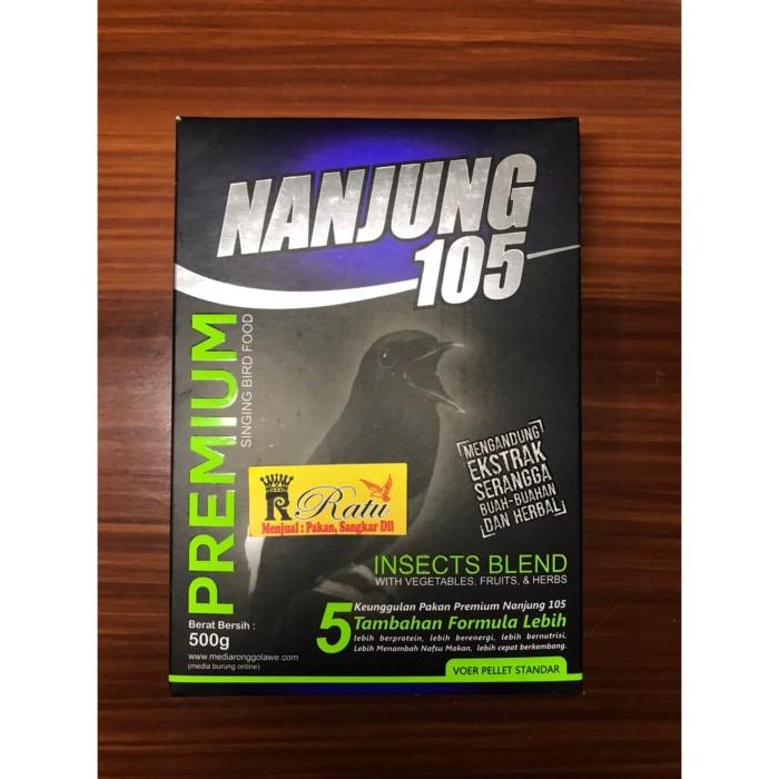 Jual Nanjung 105 Voer Pellet Standar 500gram Ebod Jaya Kota Bandung Toko Ratu Bandung Tokopedia