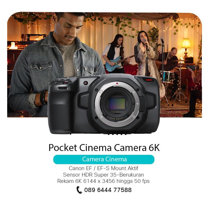 Jual Blackmagic Design Pocket Cinema Camera 6k Canon Ef Ef S Jakarta Utara Teleconference Tokopedia