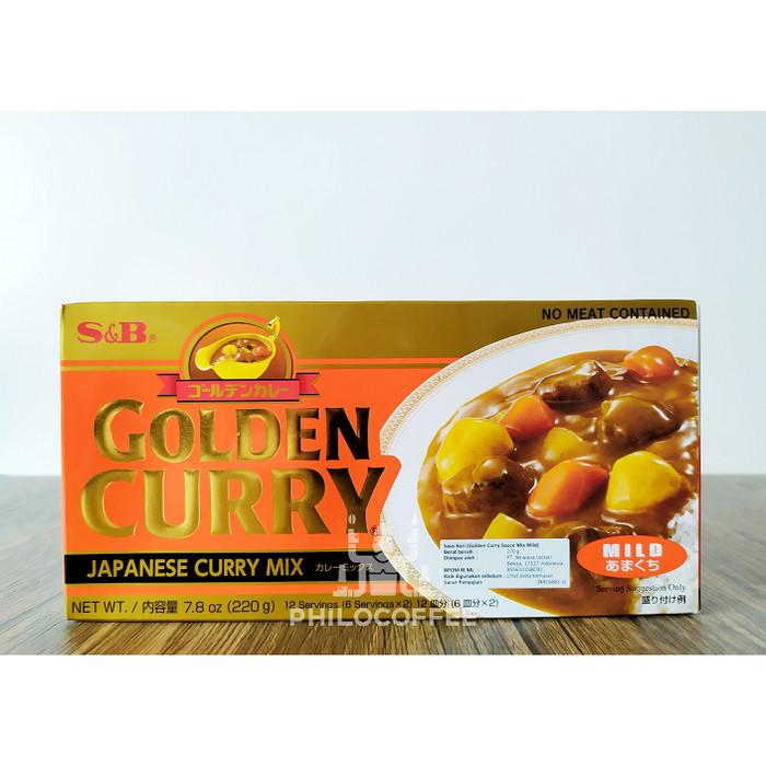 Foto Produk S & B Golden Curry Sauce Mix Mild 220gr | Saus Kari dari Philocoffee