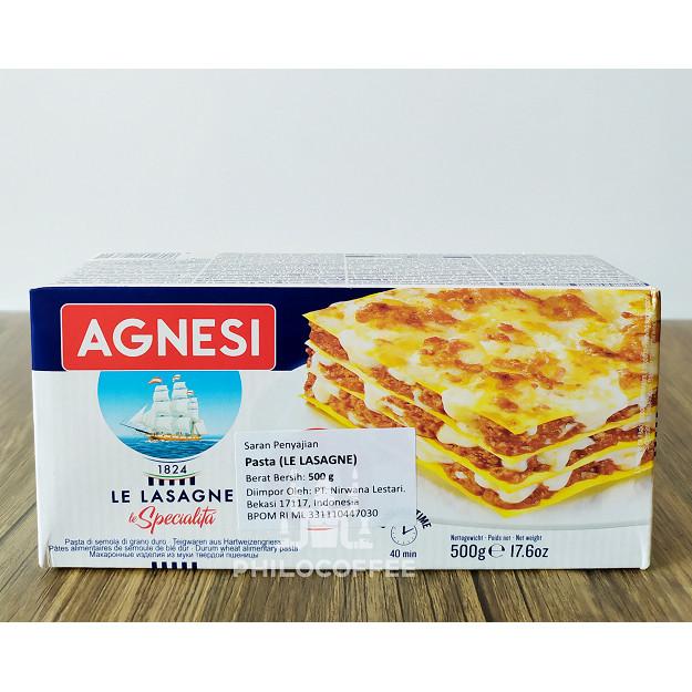Foto Produk Agnesi Lasagne 500gr | Pasta Lasagna dari Philocoffee