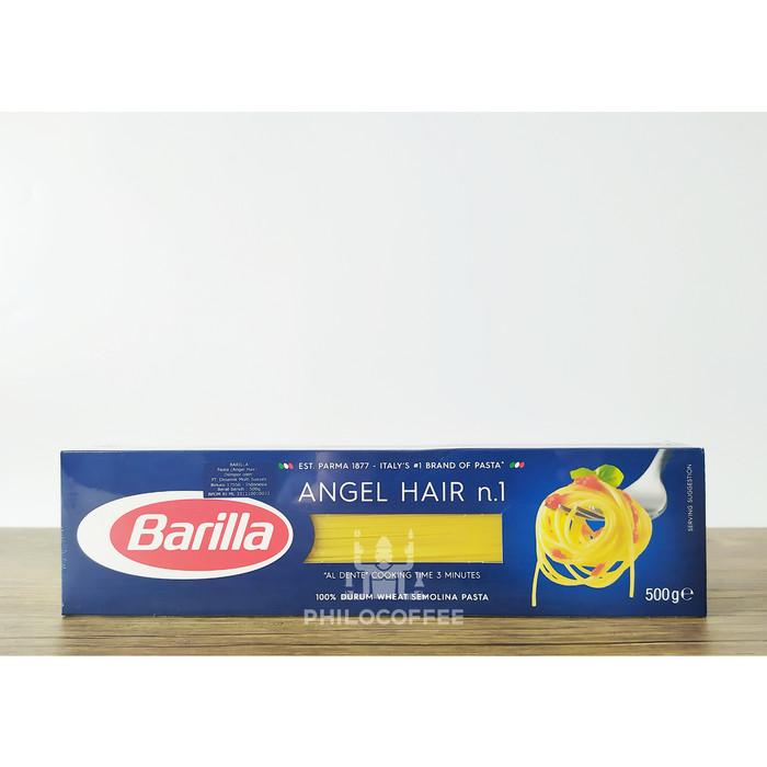 Foto Produk Barilla Pasta Angel Hair 500gr | Pasta Rambut | Pasta Tipis dari Philocoffee