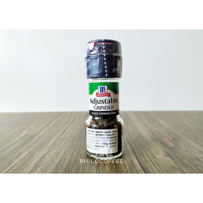 Foto Produk McCormick Black Peppercorn Grinder 35gr dari Philocoffee