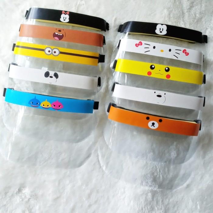 Jual Face Shield Anak / Masker Pelindung Muka Bayi / Face