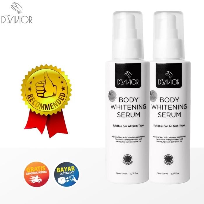 Foto Produk Penghilang Bekas Luka DSavior Body Whitening Serum Double Package dari Look The Beauty Official