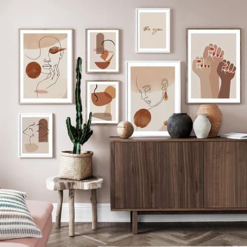Jual Abstract Line Body Art Lukisan Kanvas Hand Wall Art Canvas Painting Jakarta Barat Inamoratashop Tokopedia