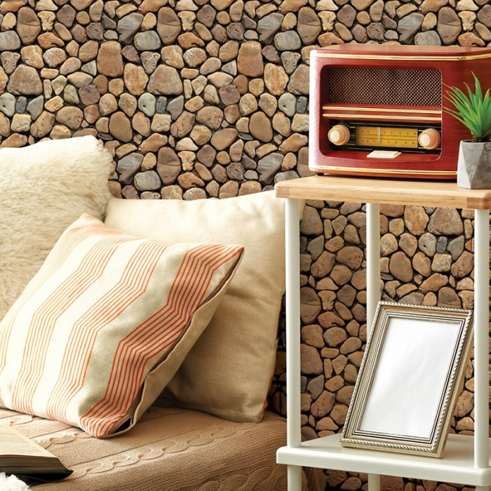 Jual Diy Brick Self Adhesive 3d Wall Stickers For Bedroom Foam Room Decor Jakarta Barat Island Vine Tokopedia