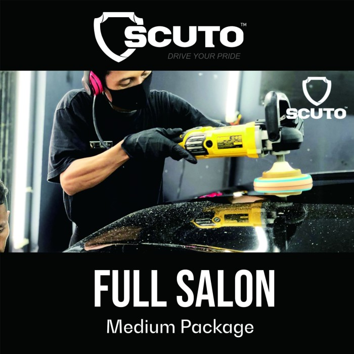 Foto Produk FULL SALON | MEDIUM dari scuto nano ceramic