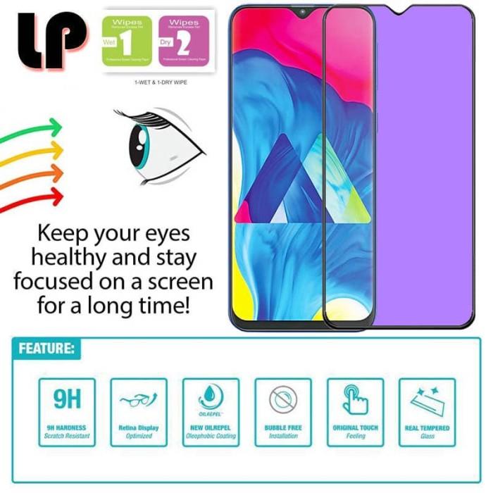 Foto Produk LP Full Anti-Blue Light Tempered Glass Samsung Galaxy M20 - Kaca Ori dari Logay Accessories