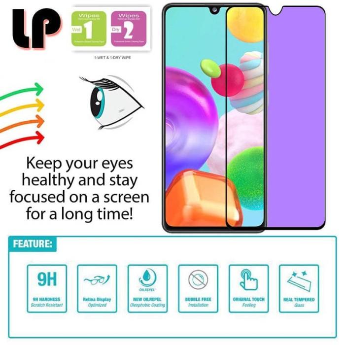 Foto Produk LP Full Anti-Blue Light Tempered Glass Samsung Galaxy A31 - Kaca dari Logay Accessories