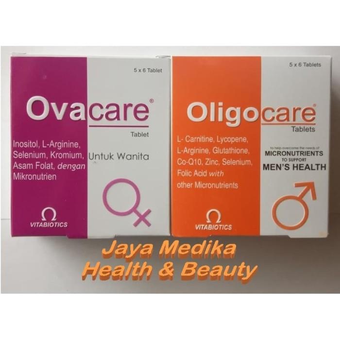 Foto Produk Paket Oligocare+Ovacare masing-masing 1 Box (Program punya Keturunan) dari Jayamedika_health&beauty