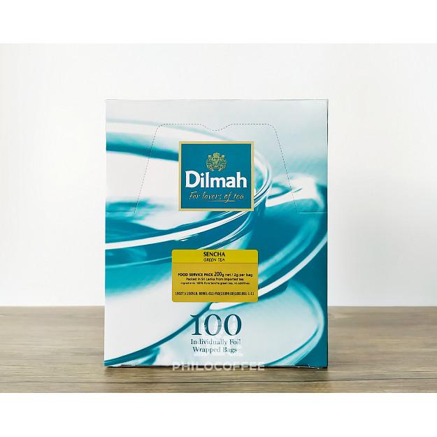 Foto Produk Teh Dilmah Sencha Green Tea 100 saset (100 Foil Enveloped x 2gr) dari Philocoffee