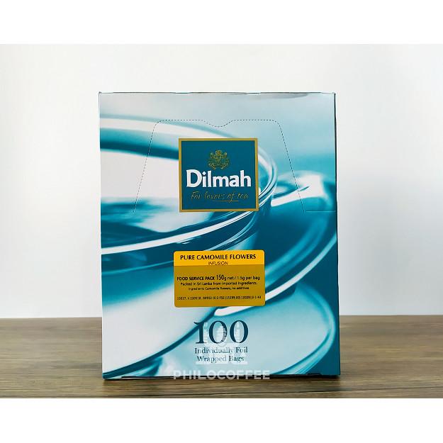 Foto Produk Teh Dilmah Camomile Tea 100 saset (100 Foil Enveloped x 1,5gr) dari Philocoffee