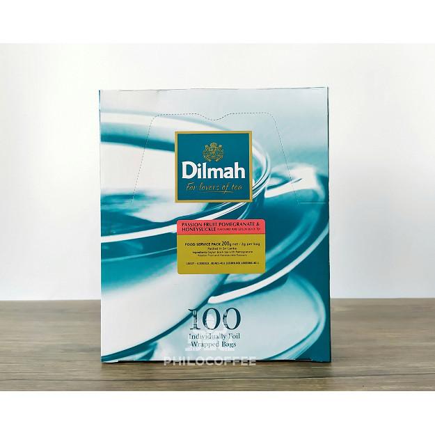Foto Produk Teh Dilmah Passion Fruit Tea 100 saset (100 Foil Enveloped x 2gr) dari Philocoffee