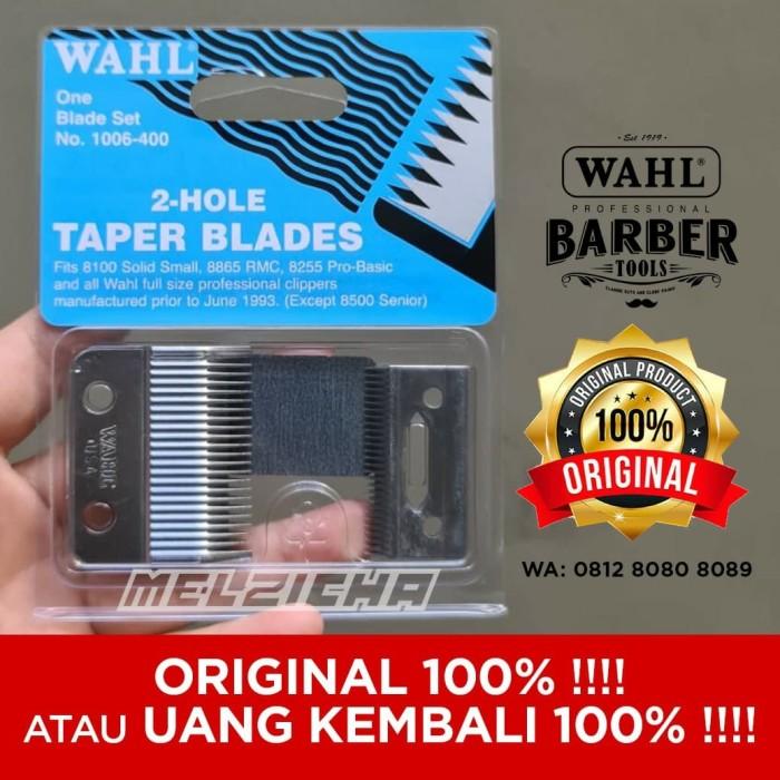 Foto Produk Wahl taper blade / pisau super taper / 2 hole taper blades / blade set dari Melzicha