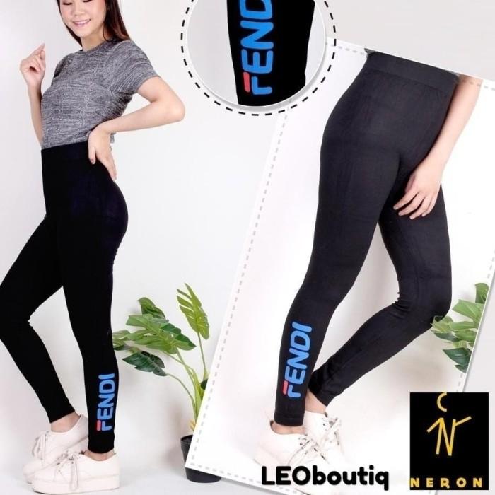 Jual S Xl Xxl Celana Legging Fendi Import Kota Pontianak Leoboutiq Tokopedia