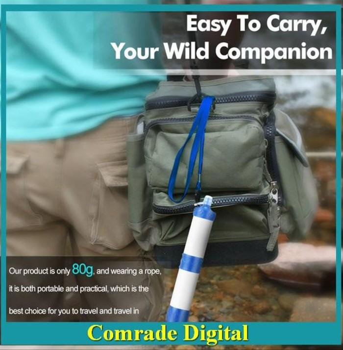 Jual Bom Sale Outdoor Portable Camping Hiking Pressure Water Filter Jakarta Utara Diahpupialaas Tokopedia
