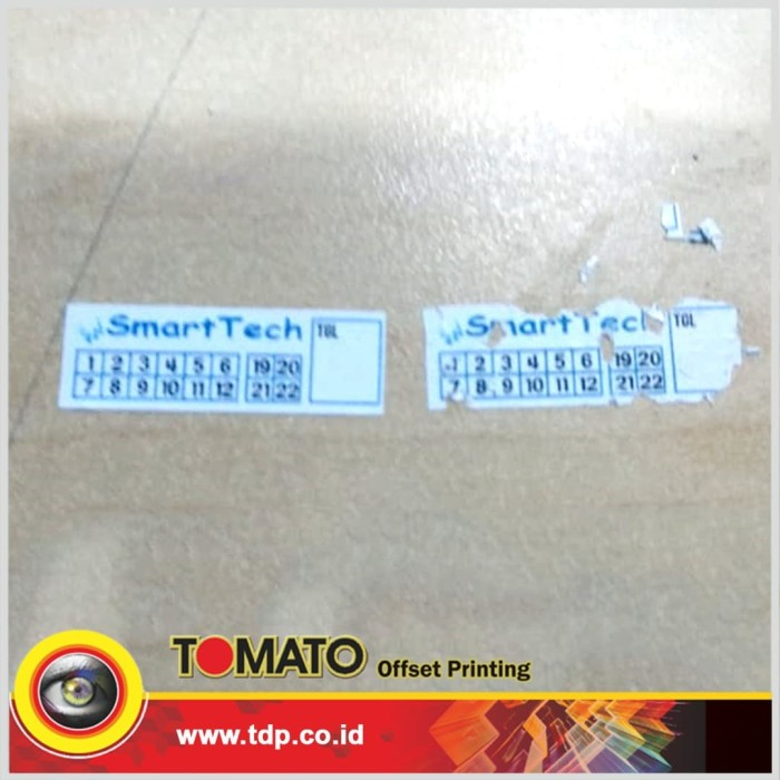 Foto Produk Custom STIKER SEGEL GARANSI PECAH TELUR HQ dari Tomato Offset Printing