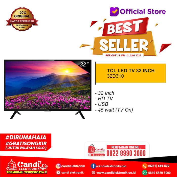 Foto Produk TCL LED TV 32 INCH 32D310-PROMO dari Candi Elektronik Solo