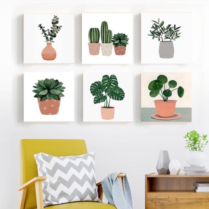 Jual Pajangan Hiasan Dinding Kamar Rumah Tropical Pot Kaktus Dekorasi Kab Trenggalek Galery21 Trenggalek Tokopedia
