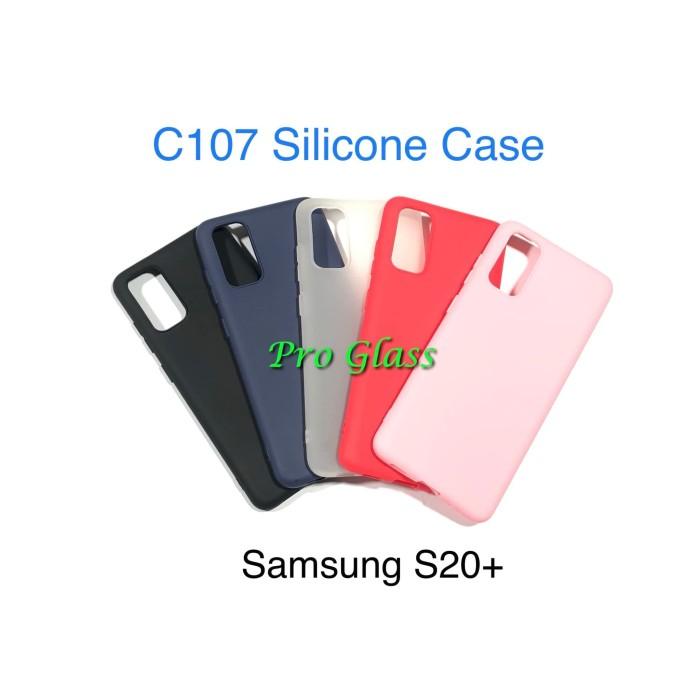 Foto Produk C107 Samsung S20 PLUS S20+ Colourful Ultrathin Silicone Matte Case dari Pro Glass