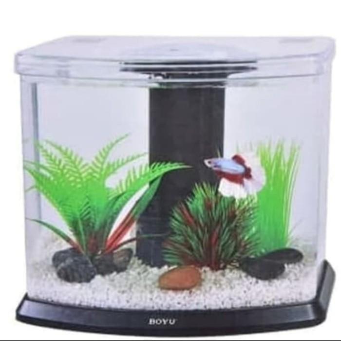 Jual Aquarium Meja Aquarium Hias Aquarium Mini Boyu Kota Surabaya V S Online Shop Tokopedia