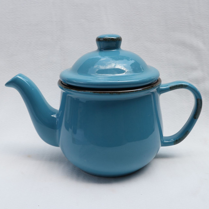 Foto Produk Artisan Ceramic | Blue Midi Teapot| Teapot Keramik dari Artisan Ceramic