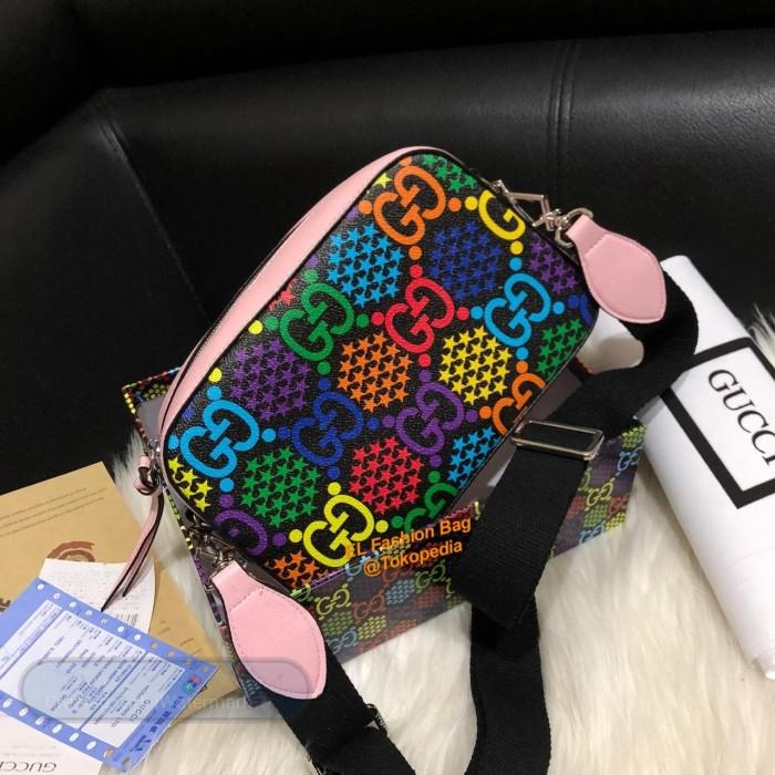 Foto Produk TAS SELEMPANG PREMIUM CEWEK WANITA G UCI CAMERA GRADE SUPER PREMIUM dari EL Fashion bag
