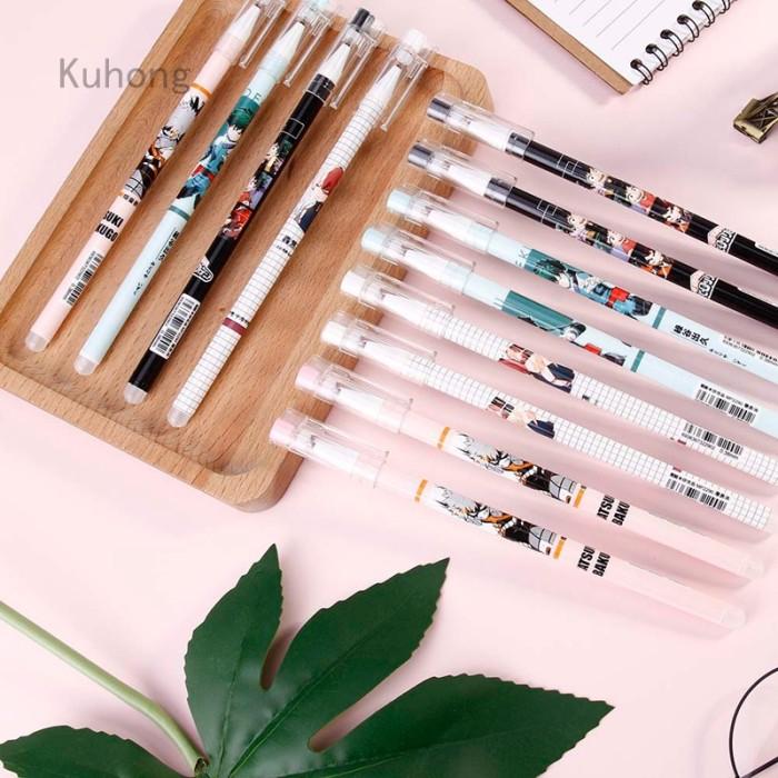 Foto Produk 12Pcs My Hero Academia Anime Around Creative Cute Gel Pen Ink Pen dari MahikStore