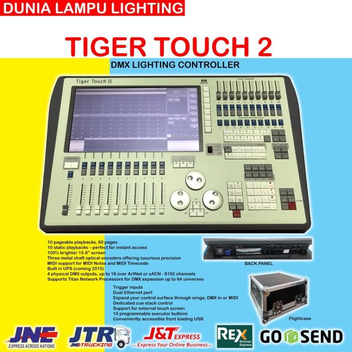 Foto Produk Avolites Tiger Touch 2 China DMX Lighting Controller mixer lampu beam dari DUNIA LAMPU LIGHTING