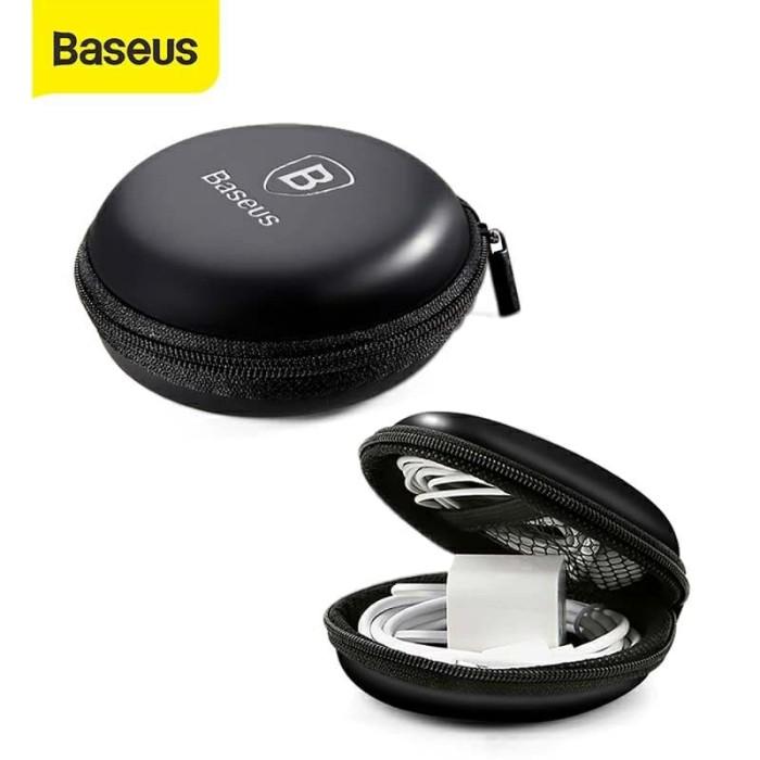 Foto Produk Baseus Storage Case - Case Headset Kabel Baseus - Case Bulat Baseus dari Queen-accessories