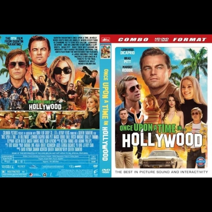 Jual Kaset Dvd Film Once Upon A Time In Hollywood 2019 Jakarta Barat Leoniljaya Dvd Tokopedia