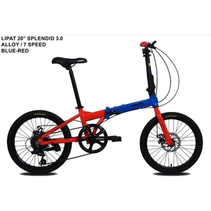 Jual Sepeda Lipat Pacific Splendid 3 0 Frame Alloy 20 Inch Kota Surabaya Jenar2020 Tokopedia