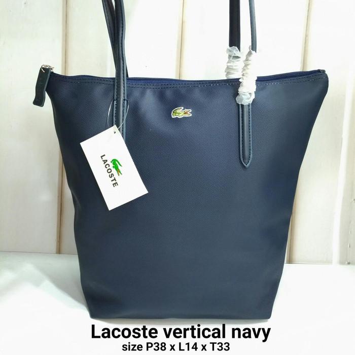 Foto Produk Tas Totebag Lacoste ver motif - Biru dari Kimora