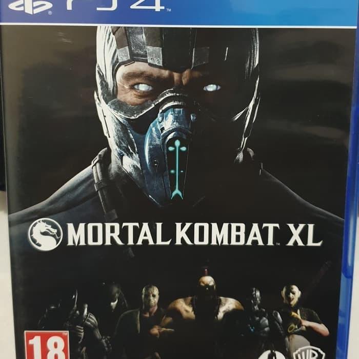 Jual Kaset Ps4 Mortal Kombat Xl Jakarta Barat Olshop Games Tokopedia