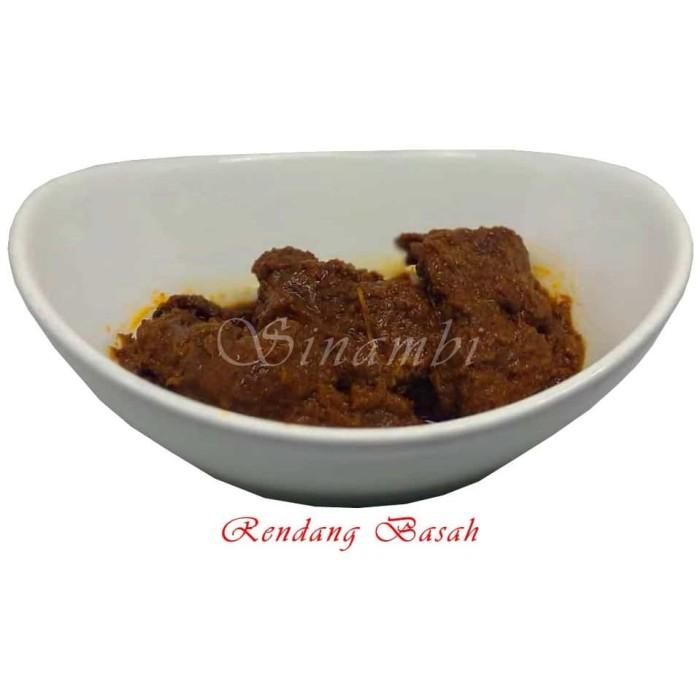 Foto Produk Rendang Basah Sinambi 500 gr / Rendang Daging dari Sinambi Kuliner